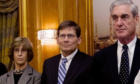 Michael Morell, center, is currently acting head of the CIA