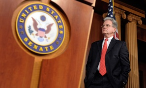 """The problem with the Republican conference is that it has a blind eye on defense spending,"" said Sen. Tom Coburn, R-Okla."