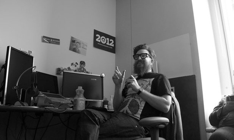 The campaign&#39;s chief technology officer, Harper Reed works in the campaign&#39;s Chicago offices.