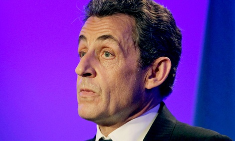 Former French President Nicolas Sarkozy