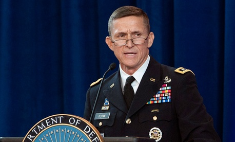 Lt. Gen. Michael Flynn, director of the Defense Intelligence Agency