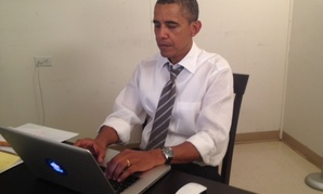 President Obama participates in an online chat on Reddit, Aug. 29. 2012. (Reddit)