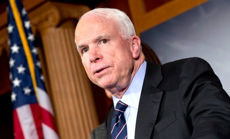 Sen. John McCain, R-Ariz., is pushing the cuts.
