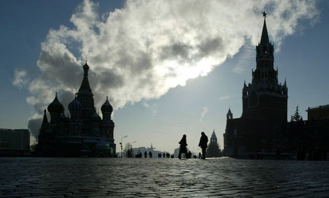 Housing the Kremlin, Moscow&#39;s Red Square is considered the central square of all of Russia.