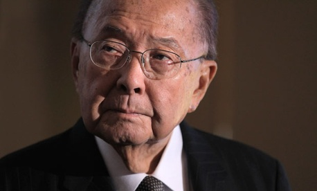 Inouye was a recipient of the Medal of Honor for his service in the second world war.