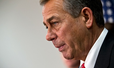 Speaker of the House John Boehner, R-Ohio.