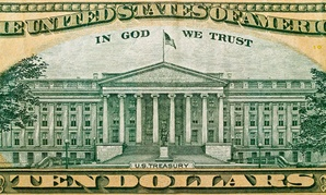 The ten-dollar bill is a denomination of currency that Treasury currently mints.