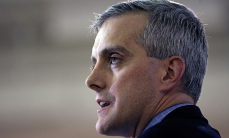 Deputy National Security Adviser Denis McDonough, a leading candidate to be Obama&#39;s next Chief of Staff. 