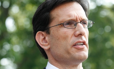 """We must pass our bills and responsibly budget for our future,"" House Majority Leader Eric Cantor, R-Va., said."