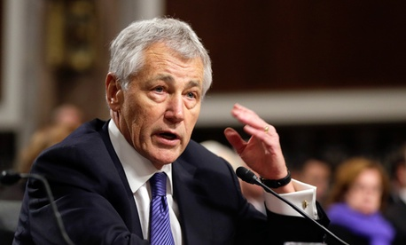 President Obama's choice to lead the Pentagon, Chuck Hagel