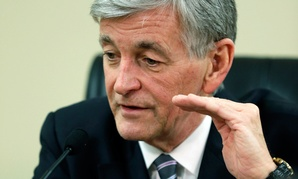 U.S. Army Secretary John McHugh; The Army may fall short of meeting budget sequestration targets.