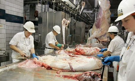 USDA food safety inspectors could be furloughed two weeks.