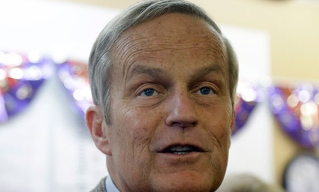 Todd Akin lost the race for Missouri's Senate seat to Claire McCaskill in November.