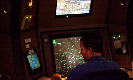 Air traffic controllers are likely to be among the federal employees