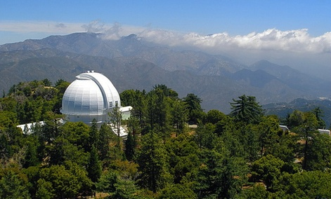 The Mount Wilson Observatory near Altadena, Calif.
