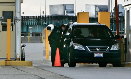 Customs Border Protection officers at the Ambassador Bridge in Detroit, are among those who will likely get furloughed due to the sequester.