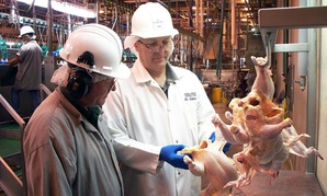 The Obama administration has warned that cuts will mean fewer food inspections.