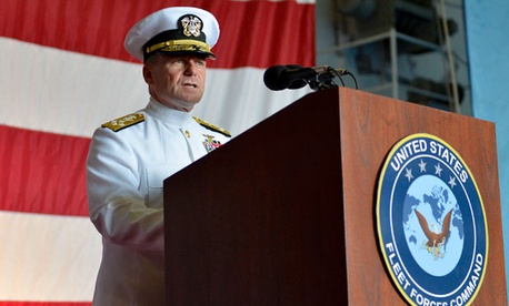 "Adm. Bill Gortney said it was the responsibility of officers ""to assess if and when [their] command is approaching the limits of safe operation"" and encouraged them to ""exercise [their] authority to suspend operations to prevent mishaps."""