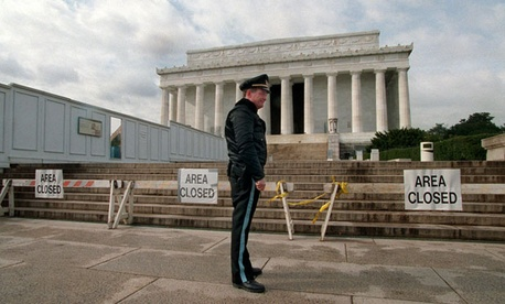Parks were closed during the government shutdown that spanned parts of 1994 and 1995. 