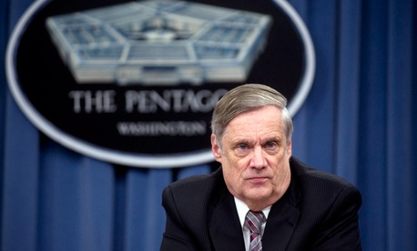 Robert F. Hale, the Defense Department's comptroller and chief financial officer