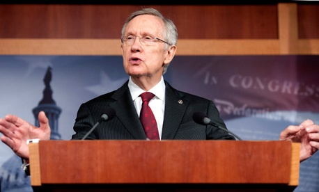 Senate Majority Leader Harry Reid, D-Nev.