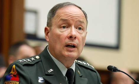 Gen. Keith Alexander, head of Cyber Command, said the combat mission forces will include 27 teams and would support the combatant commands in their planning process for offensive cyber capabilities.