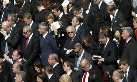 Let&#39;s play &#34;Where&#39;s Biden?&#34; with this photo, shall we?