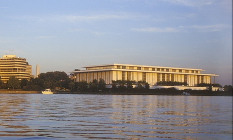 The John F. Kennedy Center for the Performing Arts ranked 12th on the list, with a low index score of 39.4