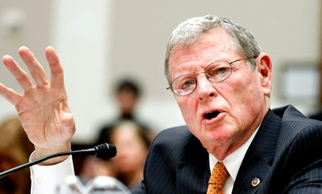 Sen. James Inhofe, R-Okla., the ranking member on the Senate Armed Services Committee