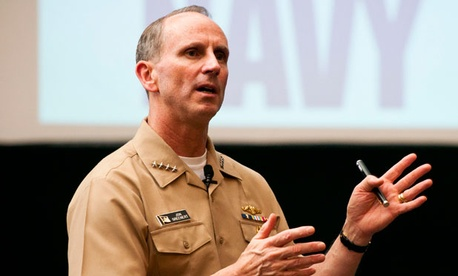 """We're going to do the right thing, the right operations, in a deliberate manner to get 2013 where we need to be and prioritize for FY14 [fiscal 2014],"" Chief of Naval Operations Adm. Jonathan W. Greenert Greenert wrote this week."