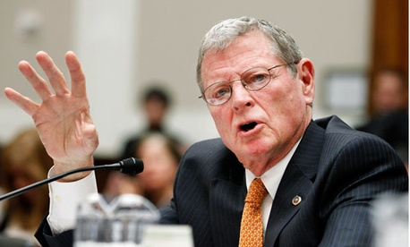 "Sen. James Inhofe, R-Okla., called a Democratic plan to halt sequestration ""budget cowardice on the backs of our warfighters."""