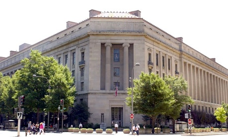 The Justice Department headquarters in Washington.