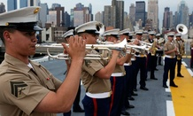 Fleet Week in New York was canceled this year due to the cuts.