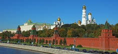 Moscow&#39;s Kremlin is the official residence of the president of the Russian Federation. 