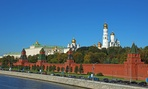 Moscow's Kremlin is the official residence of the president of the Russian Federation.