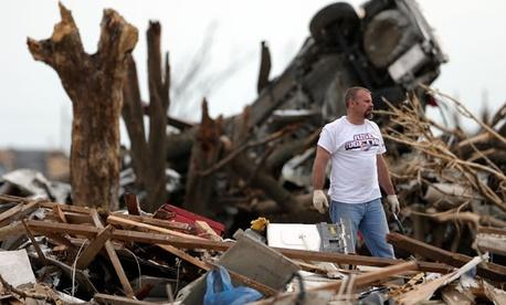 Tornado cleanup in Moore, Okla. continues.
