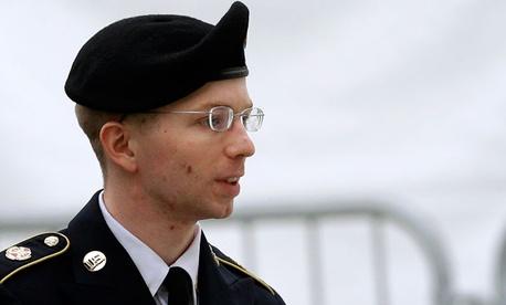 Army Pfc. Bradley Manning