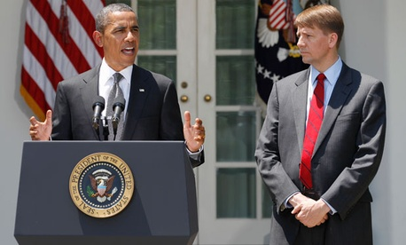 The president nominated Richard Cordray in July, 2011.