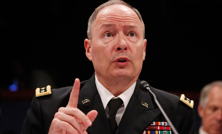 Gen. Keith Alexander testified Tuesday.