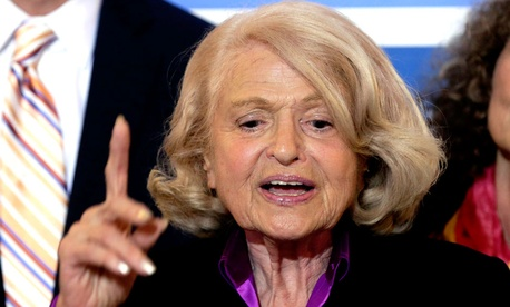 Edith Windsor, the defendant-respondent in United States v. Windsor