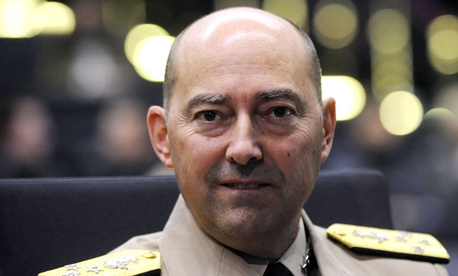 U.S. Admiral James Stavridis, NATO Supreme Allied Commander Europe