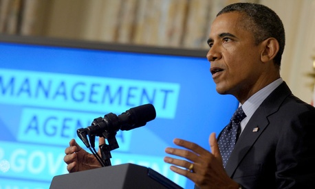 President Obama outlines his vision for better government services.