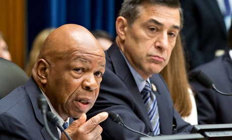 Rep. Elijah Cummings, D-Md. and Rep. Darrell Issa, R-Calif.