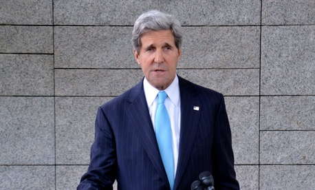 Secretary of State John Kerry served in the United States Navy.