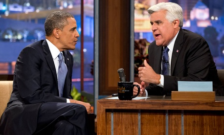 Obama made his sixth appearance on The Tonight Show and his third as president Tuesday.