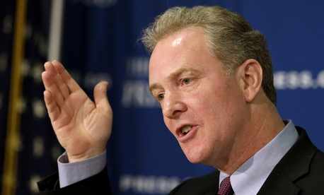 Rep. Chris Van Hollen, D-Md., ranking member of the House Budget Committee, said in a conference call with reporters that he was filing the suit in his official capacity.