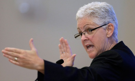 EPA Administrator Gina McCarthy made the announcement in a video sent to employees Wednesday.