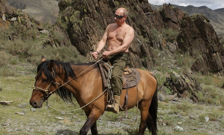In 2009, Vladimir Putin apparently went through a phase of shirtlessness in photographs.