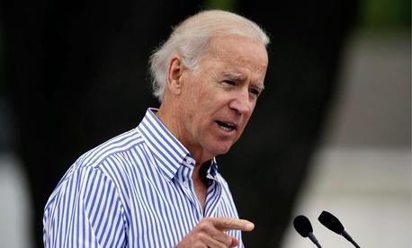 Vice President Joe Biden speaks in Iowa.