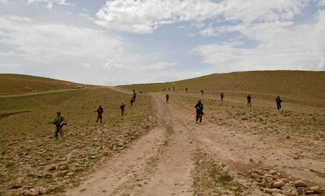 As Afghan National Security Forces take the lead in the region, they face remnants of insurgent groups and criminals.